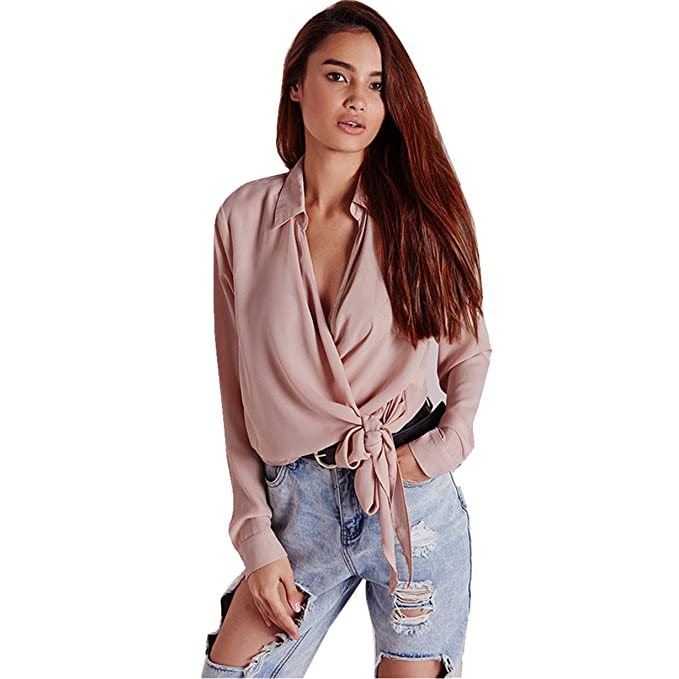 Las mujeres gasa blusa seda , Longra ❤ exclusivo personalización nueva moda de la mujer
