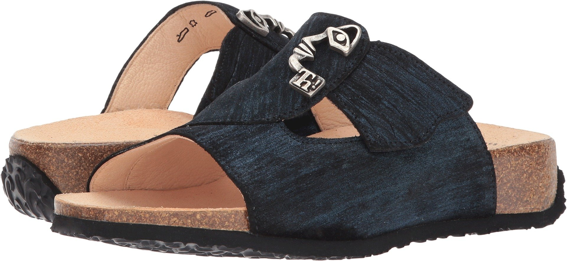 Think! Women's Mizzi - 81753 Petrol/Kombi Effect Sandal by Think!
