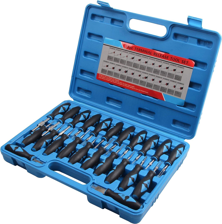 Iso Stecker Entriegelung Auspinnen Auspin Entriegeln Kfz Lösen Werkzeug 23 Teilig Baumarkt
