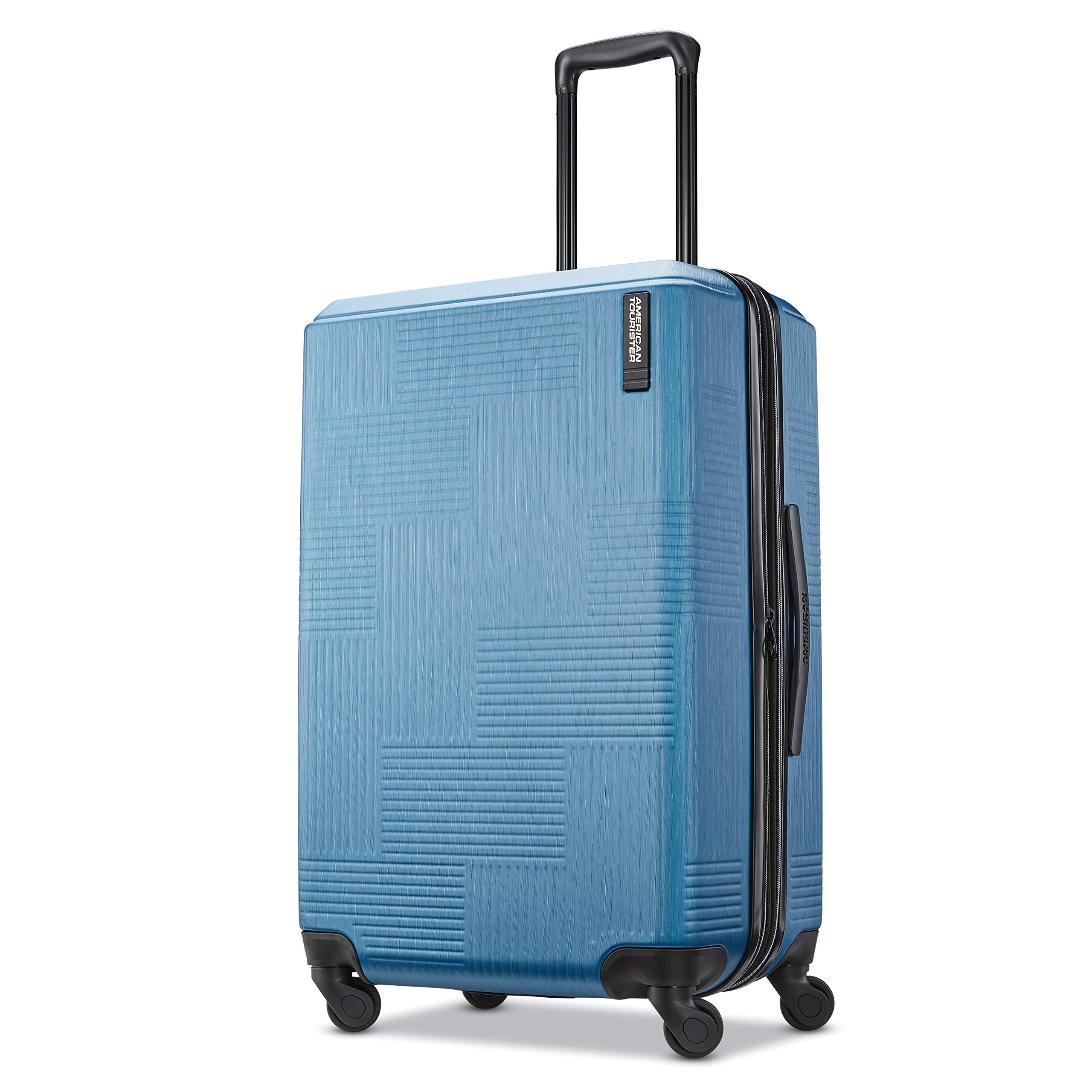 American Tourister Checked-Medium, Blue Spruce by American Tourister