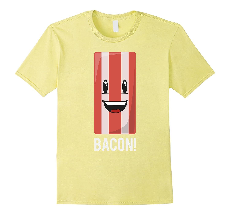 Bacon T-shirt Happy Emoji