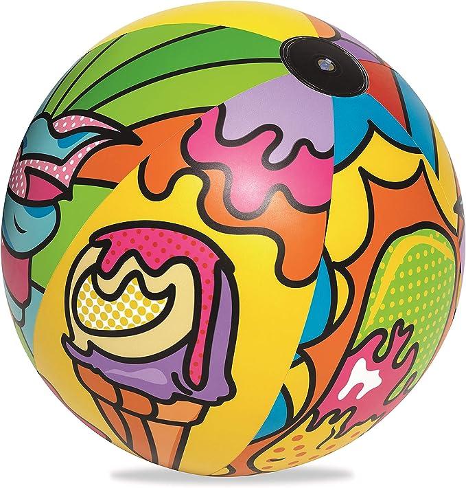 Bestway 31044 - Pelota de Playa Hinchable Pop Art 91 cm: Amazon.es ...