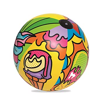 Pelota de Playa Bestway Pop Art: Amazon.es: Juguetes y juegos