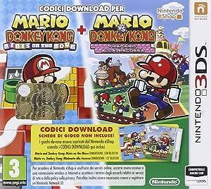 Nintendo Mario vs. Donkey Kong Mini-Land Mayhem, 3DS Nintendo 3DS Inglés vídeo - Juego (3DS, Nintendo 3DS, Acción / Aventura, E (para todos)): Amazon.es: Videojuegos