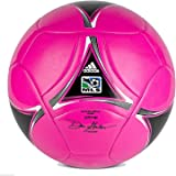 adidas MLS Glider Soccer Ball - Breast Cancer Awareness - Pink/Black/White - Size 3 (Under 8 Years Old)