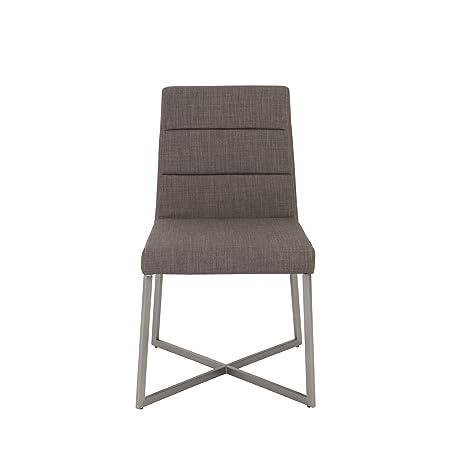 Amazon.com: Euro Estilo de Tosca – Side Chair, Conjunto de 2 ...