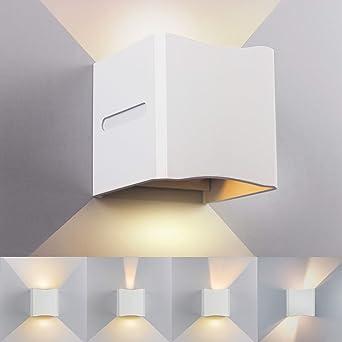 Led Wandleuchte Innen Aussen 12w Modern Wandlampe Mit Einstellbar