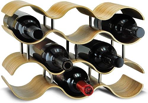 SEVVIA Wavy Willow Wine Rack