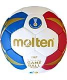 Molten Ballon de handball hx1300de m7F, bleu/blanc/rouge