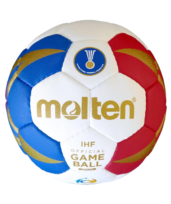 Molten balonmano hx1300de m7F, color azul, blanco y rojo