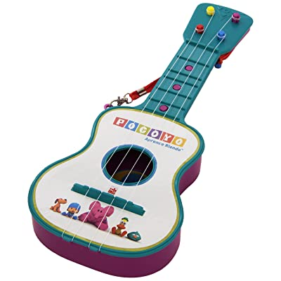 Reig Pocoyo 4-String Guitar (Assorted): Toys & Games