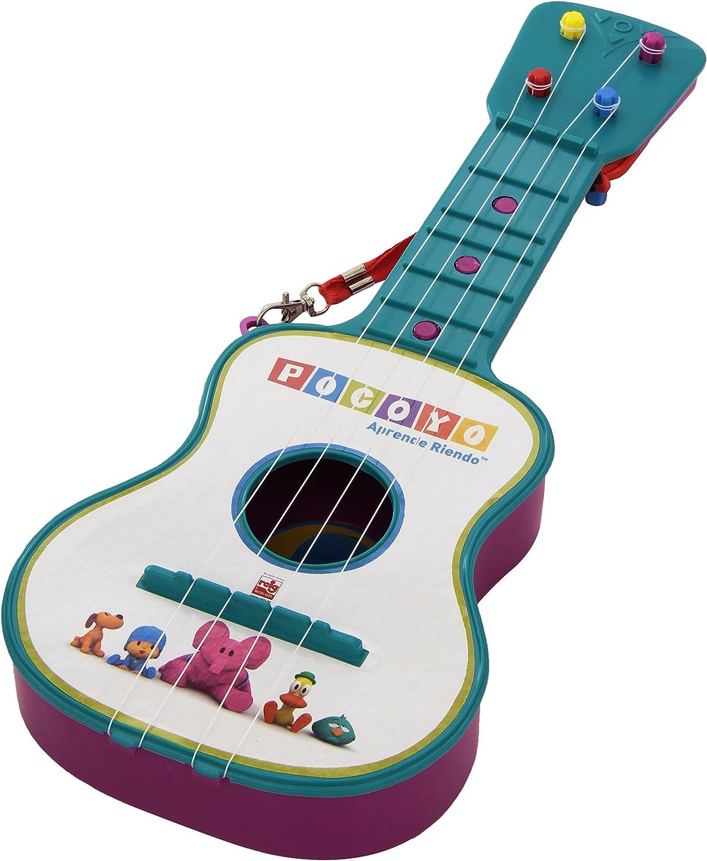 Claudio Reig Pocoyo REIG319 - Guitarra en estuche, 4 cuerdas, [colores surtidos]: Amazon.es: Juguetes y juegos