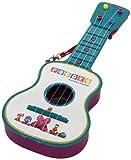 Reig Pocoyo 4-Saiten Gitarre,Blau/Rosa Sortiert