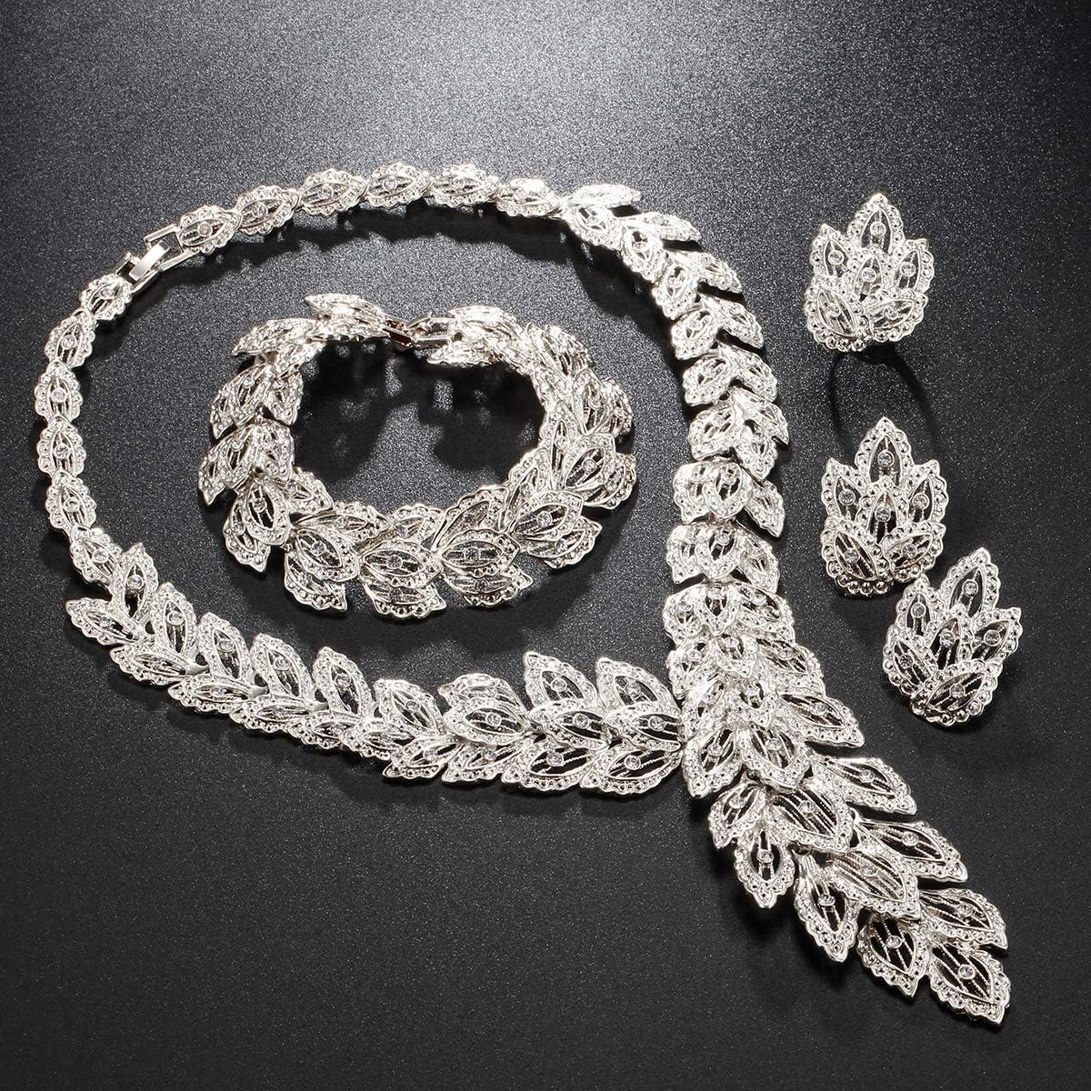 Grace Aleación De Plata 7 capa Colgante Collar de Declaración cadena joyería del Reino Unido Vendedor