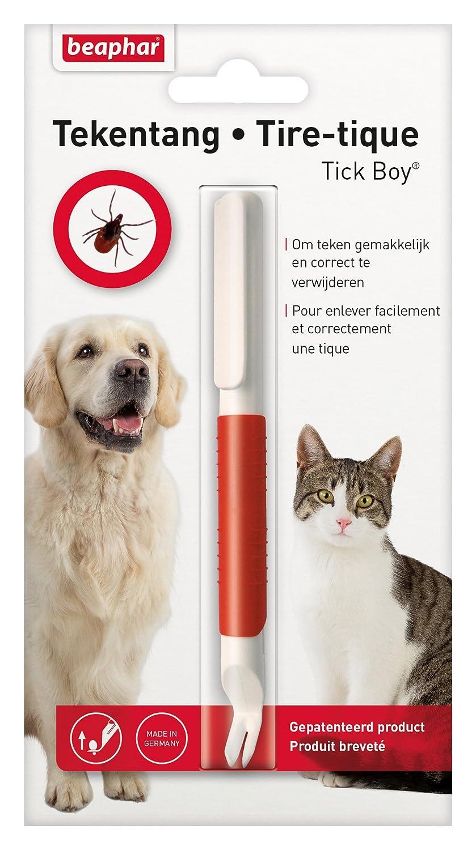 Beaphar - Tick-Boy, crochet tire-tiques - chien et chat 11846 tire-tique chat tire-tiques chien crochet tique chien