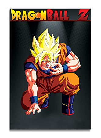 561c95947ff Tamatina Cartoon Wall Poster - Dragon Ball Z - Goku - Children Cartoon  Poster - Large