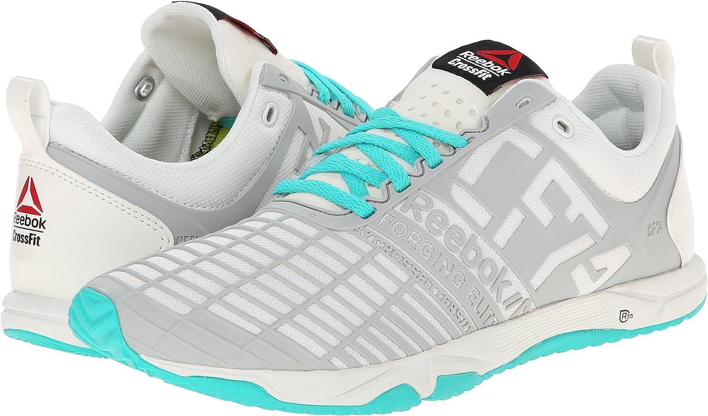 Reebok Crossfit Sprint TR-W - Zapatillas deportivas para entrenamiento de crossfit para mujer., Azul (Chalk/Steel/Timeless Teal), 10 B(M) US: Amazon.es: Deportes y aire libre