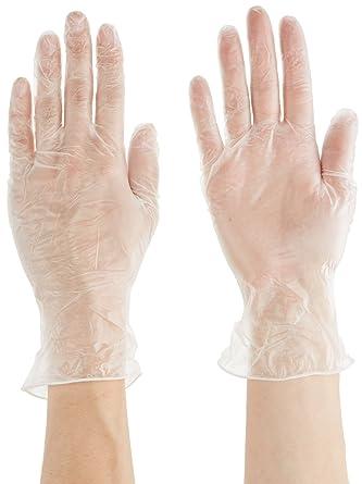Ansell 34-755/6.5 DuraTouch Vinilo guante, Protección contra productos químicos y líquidos