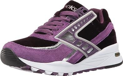 b62bd5f223a41 Brooks Heritage Women s Regent Deep Purple Silver Chrome Sneaker 6 B ...