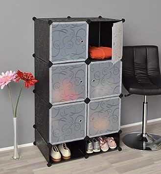 ts ideen 5151 armadio completo di scarpiera mobiletto da bagno armadio da cameretta
