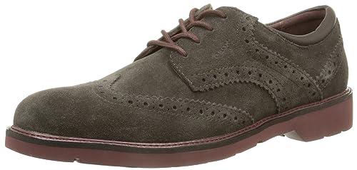 318ad79185 Geox Men's U Garret a Brogue: Amazon.co.uk: Shoes & Bags