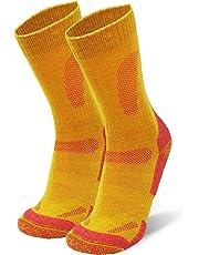 DANISH ENDURANCE Merino Wool Hiking & Walking Socks for Men, Women & Kids, Autumn, Winter, Trekking, Outdoor, Anti-Blister, Cushioned, Breathable, Thermal, 1 Pack