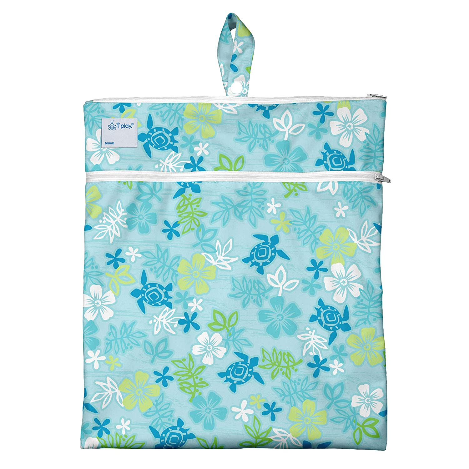 i play One-Size Stores wet /& dry items separately clothes /& more diapers Wet /& Dry Bag Use for swim wear Navy Octopus underwear