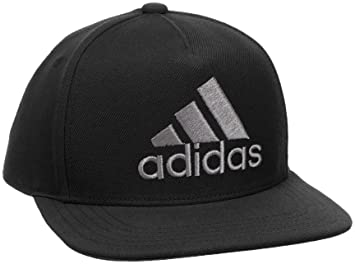 ac810d7440758 adidas CF4869 H90 Logo Cap - Black Black Grey