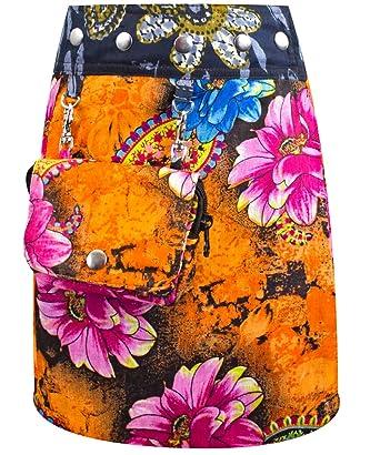 Sunsa - Falda - para niña Naranja Naranja Talla única: Amazon.es ...