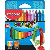 Maped Ofis Ve Kırtasiye 861013 Color'Peps Wax Mum Boya, 24'Lü