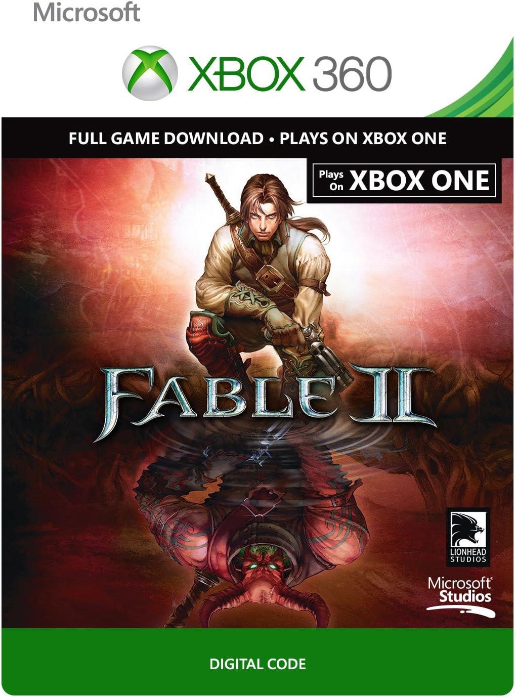 Amazon com: Fable II - Xbox 360 / Xbox One Digital Code