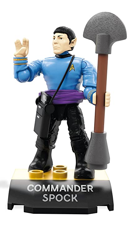 Image result for mega construx star trek spock