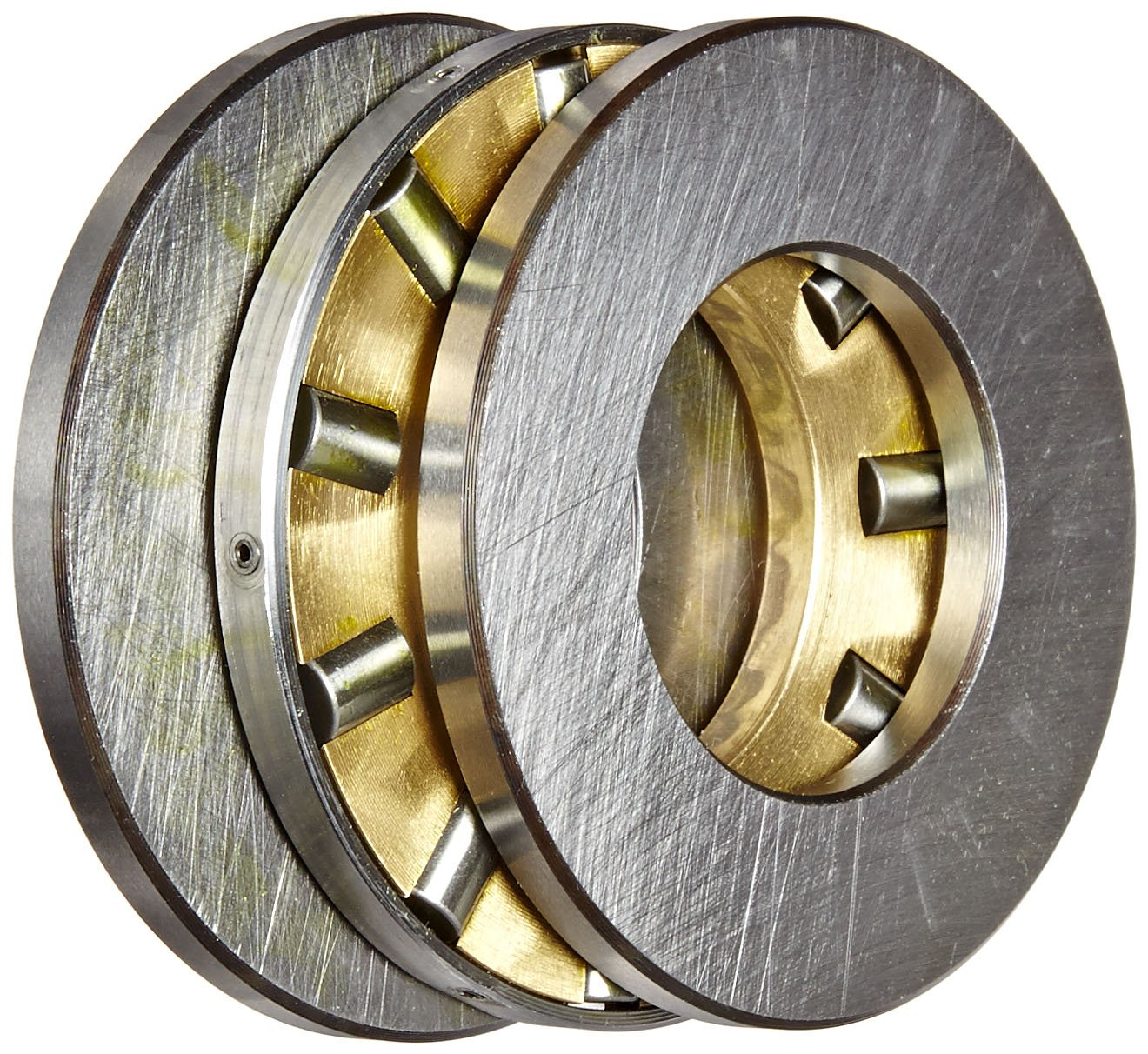 Standard Cage 9600lbf Dynamic Load Capacity 5//8 Width Single Direction Open End 4100rpm Maximum Rotational Speed 2.3440 OD 1-1//4 ID INA RTL13 Cylindrical Thrust Bearing Light Cross Section Inch 22000lbf Static Load Capacity