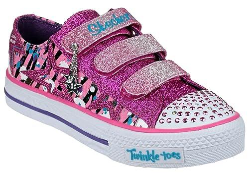 SkechersShuffles Glittler N Glitz - Zapatillas chica , color, talla 30 EU: Amazon.es: Zapatos y complementos