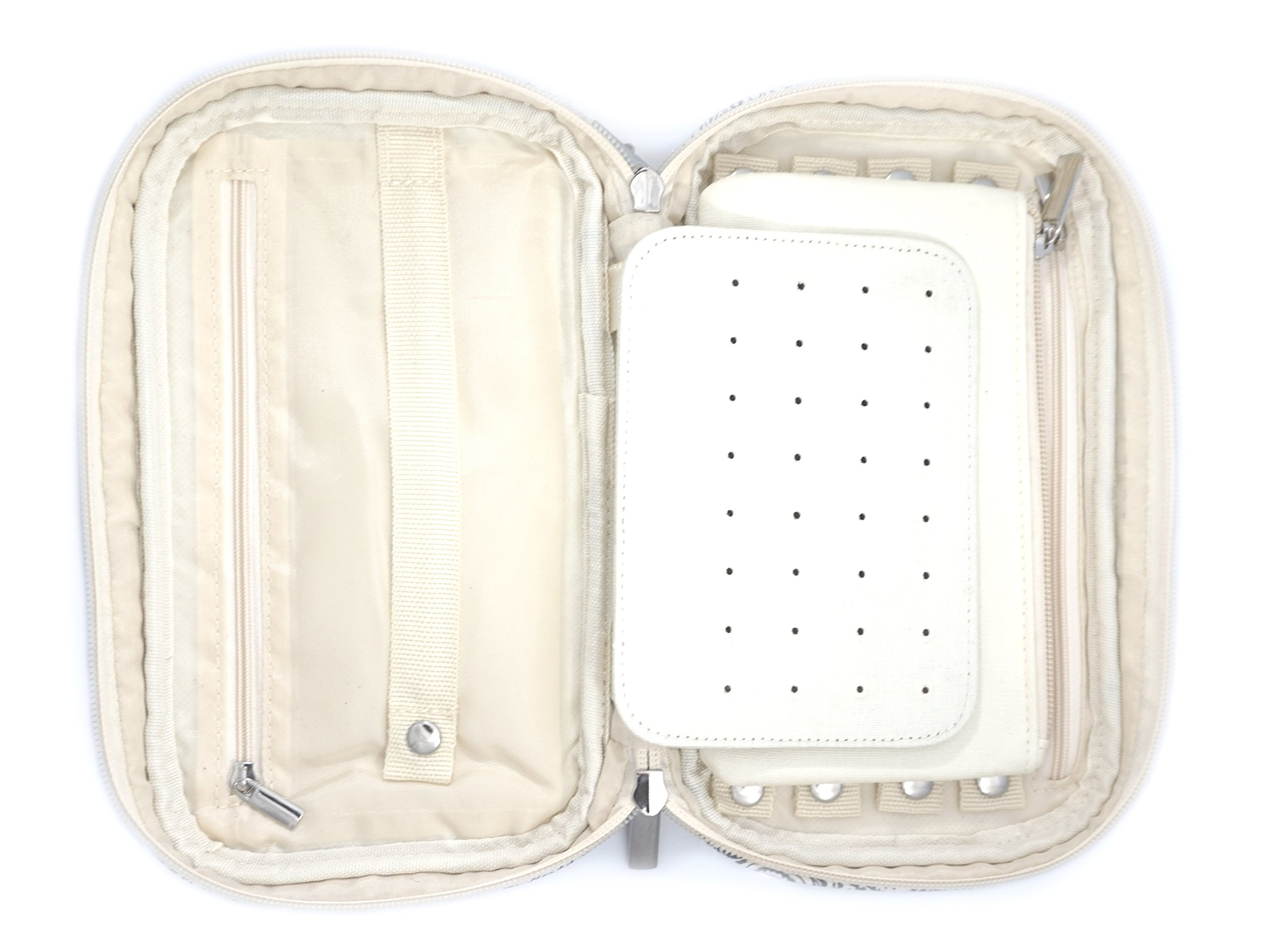 Jewelry & Accessories Travel Organizer Bag Case (Black) by Simple Accessories (Image #9)