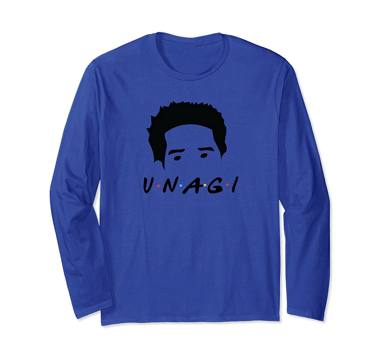 Unagi - Black Long Sleeve T-Shirt-alottee gift