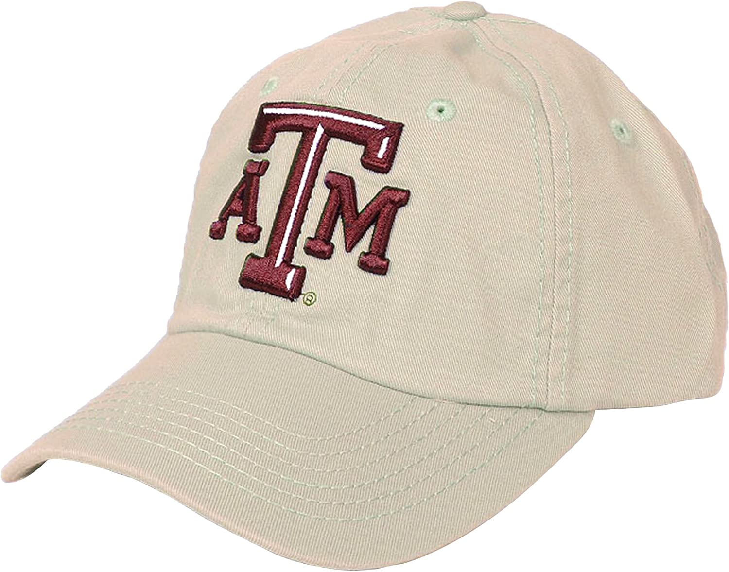 Adjustable One Size Champion Texas A/&M Aggies Khaki Cap