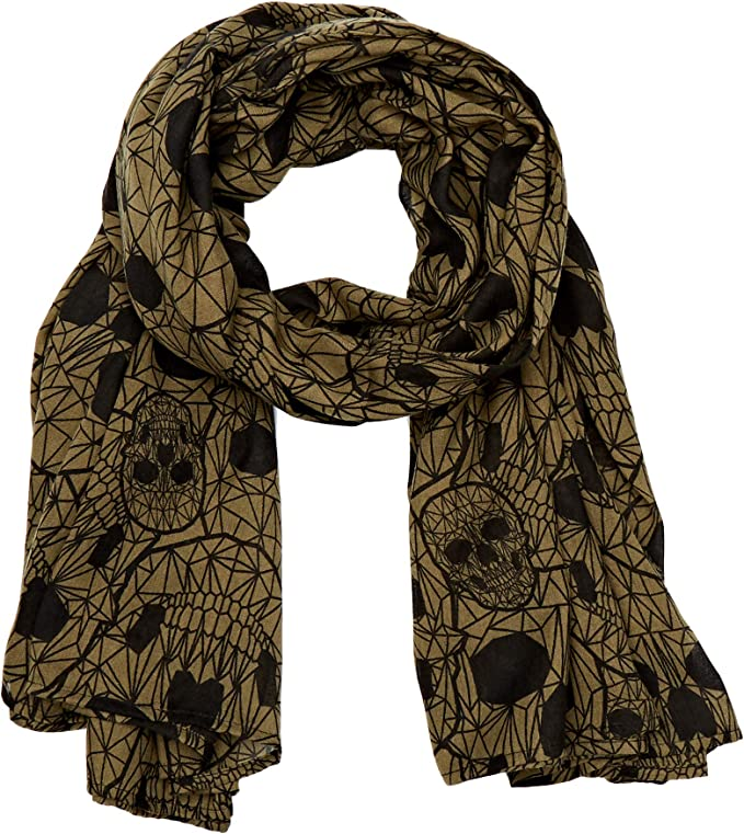 Acheter foulard echarpe bandana tete de mort online 15