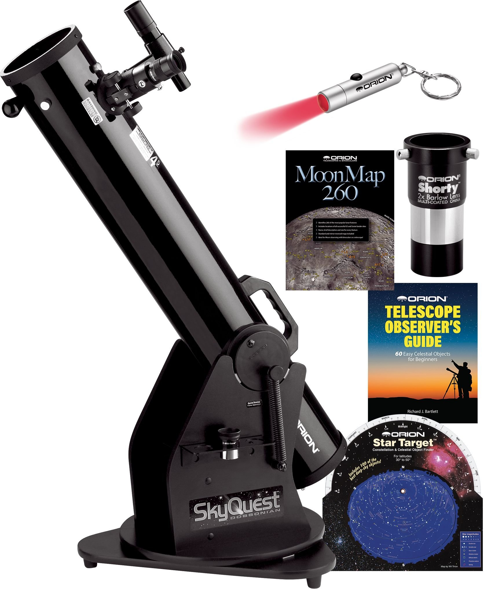 Orion SkyQuest XT4.5 Classic Dobsonian Telescope Kit by Orion