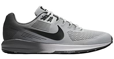 Nike Herren Air Zoom Structure 21 Sneakers, Mehrfarbig (Pure  Platinum Anthracite Cool e0b2982601