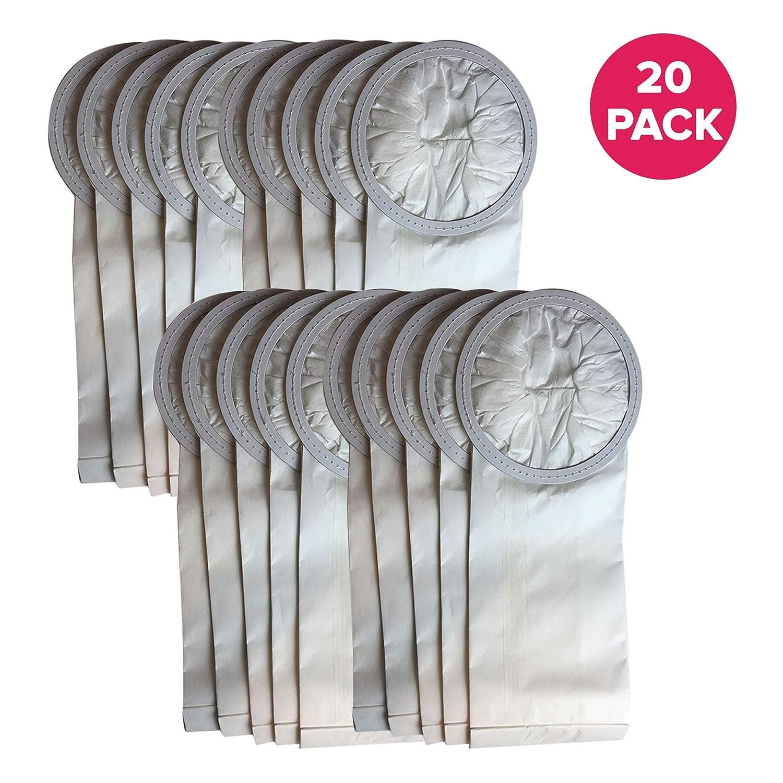 Compatible with Oreck Models XLPRO6 Crucial Vacuum Replacement 6 QT Vac Bags Part # PKBP10 OR1006 XLPRO6A XLPRO6Z Commercial Backpack 6-Quart Vacuum Bags Disposable Debris Bag 5 Pack