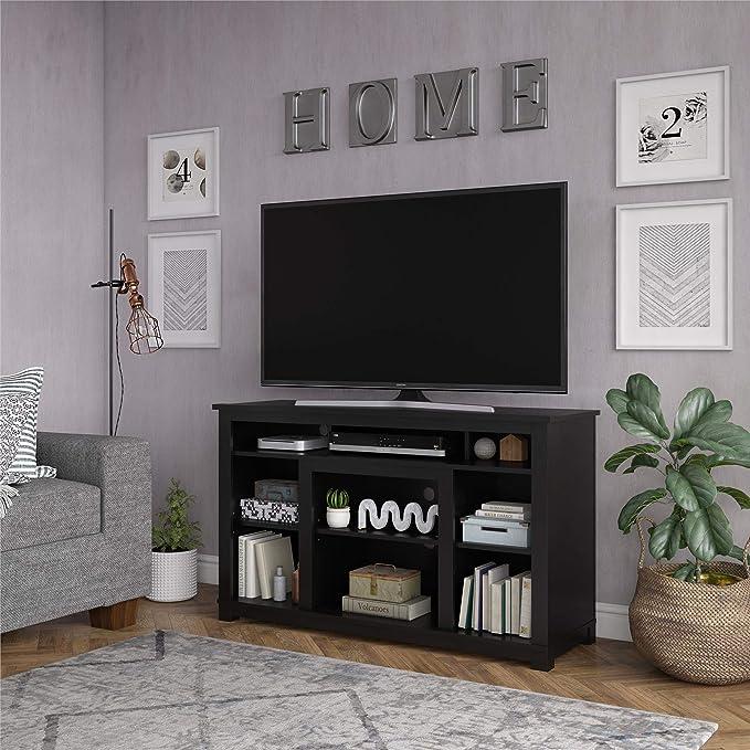 Ameriwood Home 5229872COM Edgewood Soporte para TV de 55 Pulgadas, Color Negro: Amazon.es: Juguetes y juegos