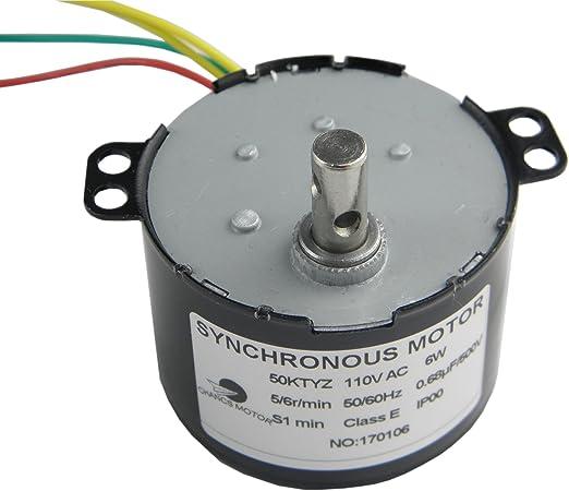 New 1pc Synchronous Motor 50KTYZ 6w  5rpm//min