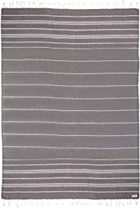 Sand Cloud Recycled Turkish Towel - Great for Home or Beach or as a Blanket - As Seen on Shark Tank