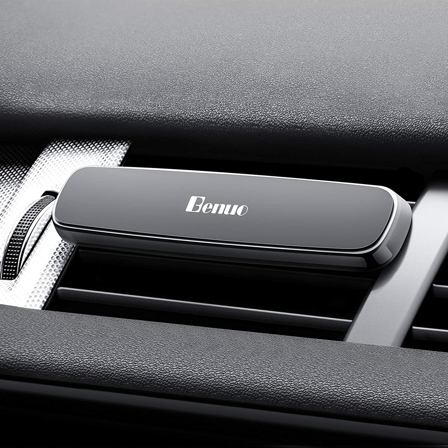 Benuo Magnetic Car Phone Mount Holder for Air Vents Strong Absorption Phone Mount for iPhone X / 8/8 Plus / 7/7 Plus / 6S Samsung Galaxy S5 / S6 / S7 / S8 Mini PC 18791312