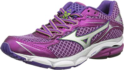 Mizuno Wave Ultima 7 (W) - Zapatillas Running para Mujer, Color Morado (Wild Aster/Silver), Talla 42.5: Amazon.es: Zapatos y complementos