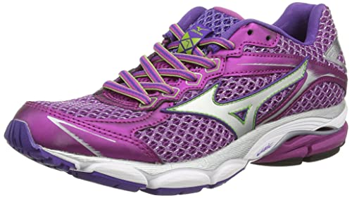 Mizuno Wave Ultima 7 (W) - Zapatillas Running para Mujer, Color Morado (Wild Aster/Silver), Talla 36.5: Amazon.es: Zapatos y complementos