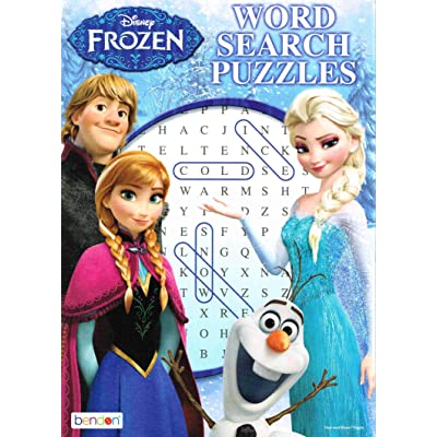 Disney Frozen Activity book Word Search: Disney: Toys & Games