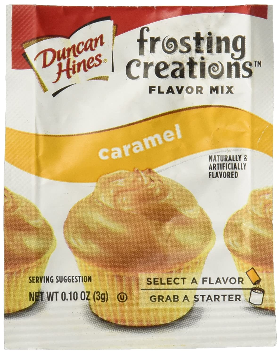 Amazon.com : Duncan Hines Frosting Creations Flavor Mix Caramel ...