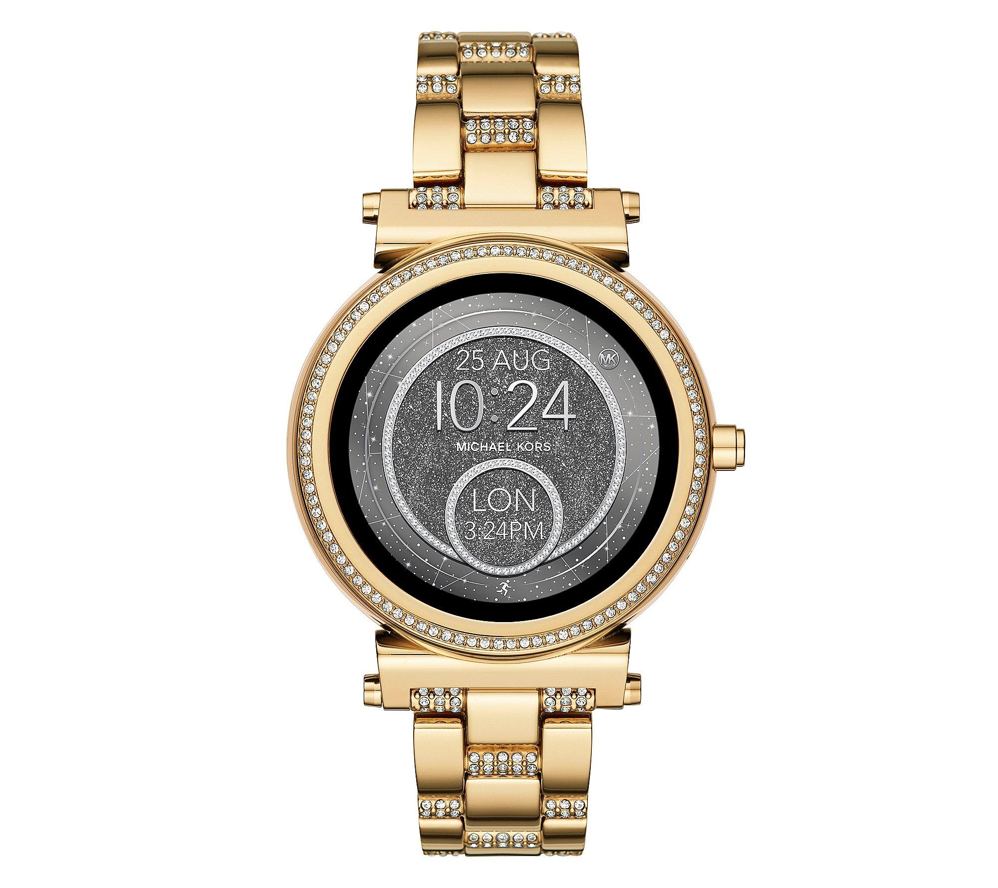 Michael Kors Access Sofie Goldtone Touchscreen Smart Watch